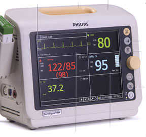 Rent or Purchase Philips SureSigns VM4 Patient Monitors