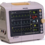 Used Philips SureSigns VM6 Patient Monitor For Sale or Rent