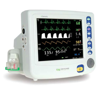 Used Criticare nGenuity 8100E1 Patient Monitors For Sale