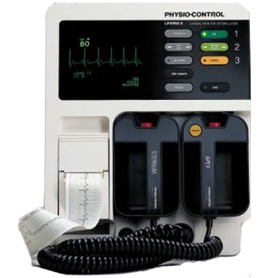 Refurbished Physio-Control LifePak 9P Pacing Defibrillator
