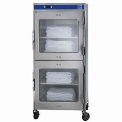 Refurbished Pedigo 2-Door Stainless Steel Blanket Warmer