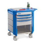 Refurbished Metro Lifeline Emergency Crash Cart for Sale or Rent