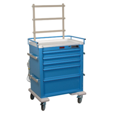 New or Refurbished 5-Drawer Emergency Crash Cart