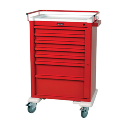 Emergency Crash Cart with 7 Drawers