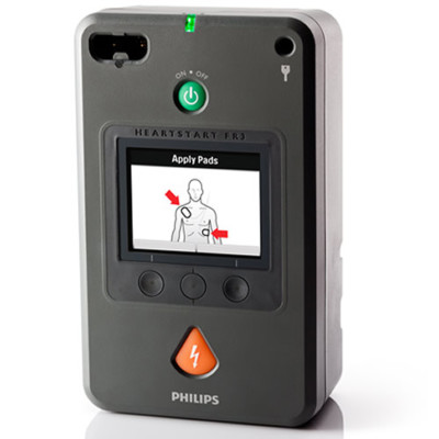Used Philips HeartStart FR3 Defibrillator for Sale or Rental