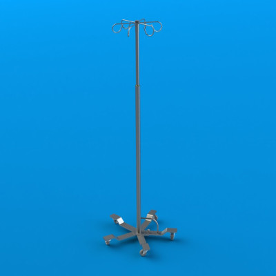 New or Refurbished Mac Medical Stainless Steel IV Pole