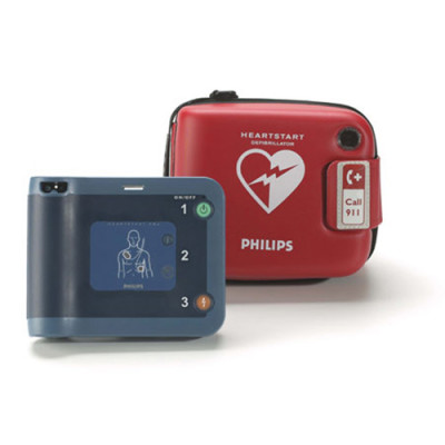 Used Philips HeartStart OnSite Defibrillator and AED