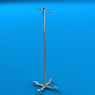 Mac Medical Stainless Steel IV Pole
