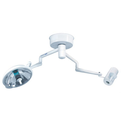 Ceiling Mounted Bovie System 2 Dual Arm Surgical Light and Video Camera