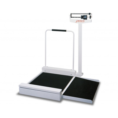 Detecto Stationary Weigh Beam Wheelchair Scale