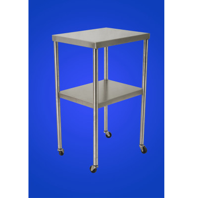 Mac Medical Stainless Steel Back Table
