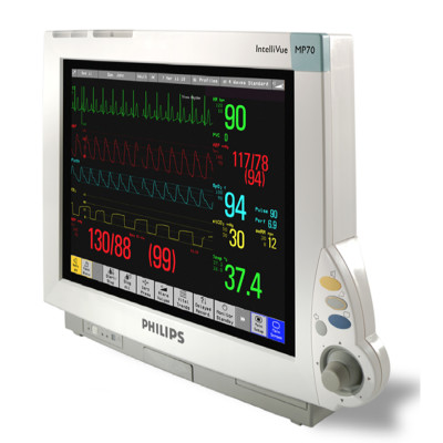 refurbished philips intellivue mp60 mp70 patient monitor for sale rh heartlandmedical com Philips Medical Monitors Philips Medical Monitors