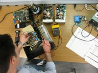 Where to find an anesthesia machine repair and maintenance technician