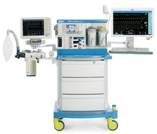 Drager Fabius GS Premium Anesthesia Machine For Sale