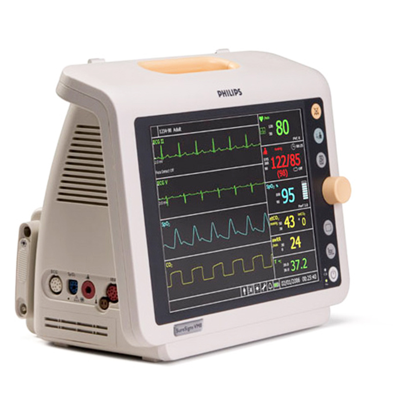 Used Philips SureSigns VM8 Patient Monitor For Sale