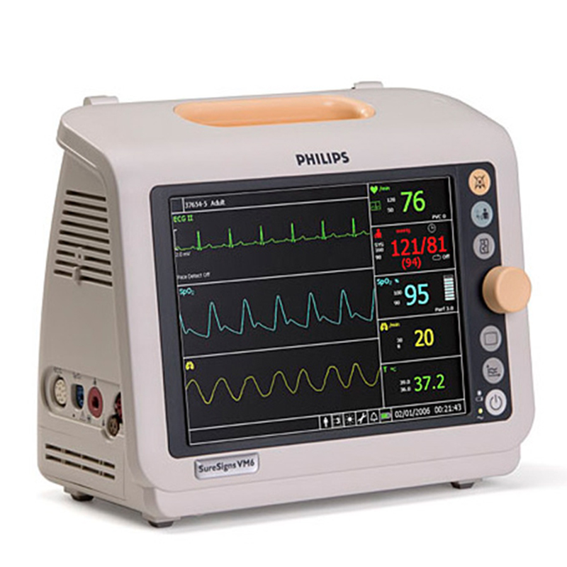 Used Philips SureSigns VM6 Patient Monitor For Sale